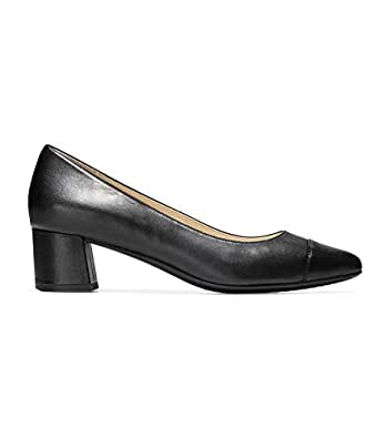 Cole Haan Womens The Go-to Block Heel Pump (45mm) Black Size: 8.5