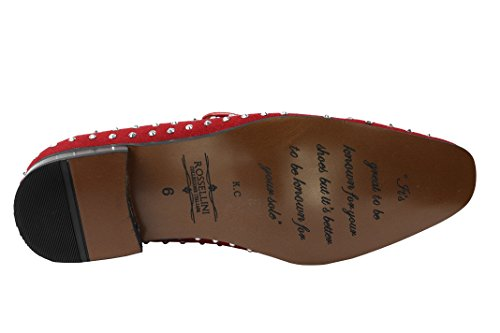 Rossellini Rossellini Mocassins Red Mocassins Homme Homme Red TqwafT