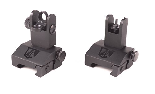 low profile tactical sight combo - 2
