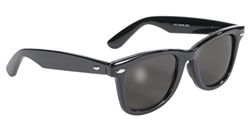 Pacific Coast Blues Brothers Glasses (Black Frame/Smoke - Blues Glasses Brothers