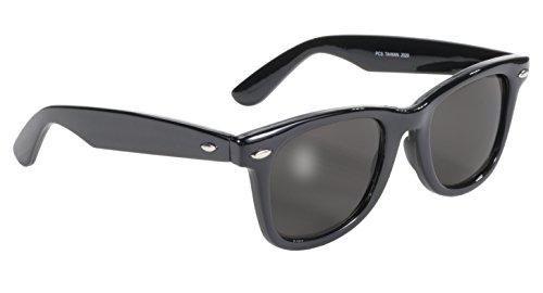 Pacific Coast Blues Brothers Glasses (Black Frame/Smoke - Brothers Blues Sunglasses