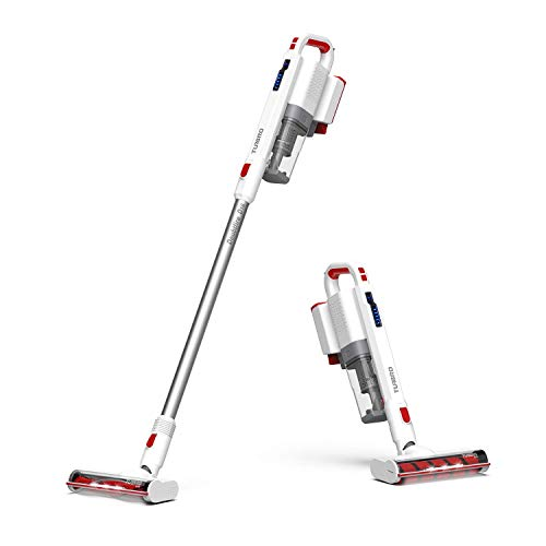 TURBRO Doubtfire D16 Cordless Vacuum Cleaner – Lightweight, Quiet, Versatile, Rechargeable, Easy to Use, Long Battery Life, Stick and Handheld – Perfect for Hardwood Floors