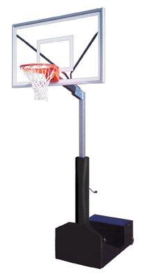最初チームRampage選択steel-acrylicポータブルバスケットボールsystem44 ;レンガレッド B01HC0E9S4