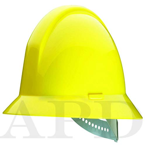 12-PK Honeywell Everest Full Brim Hard Hat 6 Point Nylon Suspension // 502-A49R020000