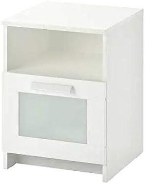 Ikea BRIMNES – mesita de Noche, Blanco Hermoso Aspecto: Amazon.es ...