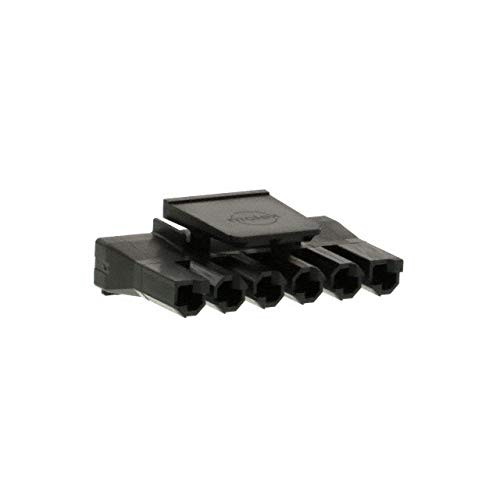 CONN HSG RCPT 6POS 7.50MM NAT, (Pack of 100)
