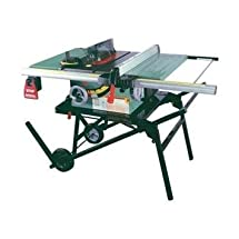 "General International 50-090RK M1 Power Products Job Site Saw with Left Tilt, 10"", Green"