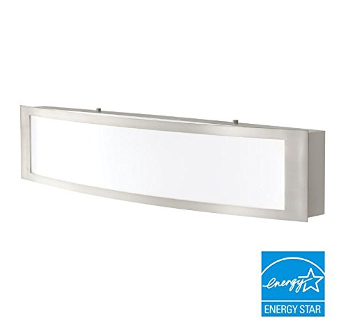 Review Brushed Nickel Indoor LED Linear Vanity Light By Home Decorators  Collection By Home Decorators Collection