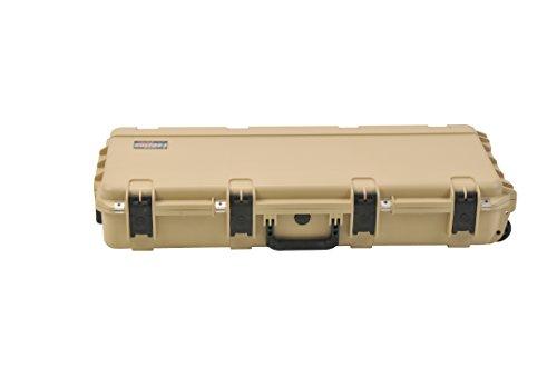 SKB Reisekoffer Wasserfester Mehrzweck-Transport für kurzes Gewehr, braun, 92.7 x 36.8 x 15.2 cm, 3I-3614-6T-L