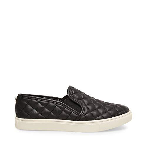 Steve Madden Women's Ecentrcq Slip-On Fashion Sneaker,Black,9 M US