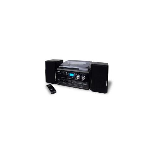 Spectra Merchandising JEN-JTA-980 3-Speed Turntable with 2 CD player/ by Spectra Merchandising