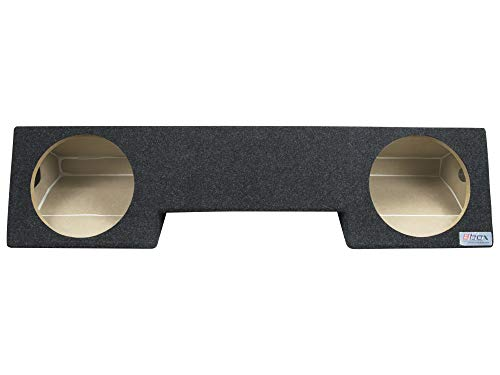 "Bbox A232-10CP Dual 10"" Sealed Carpeted Subwoofer Enclosure - Fits 1994-2002 Dodge Ram Extended Cab"