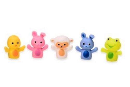 Magic Years 5-piece Happy Spring finger puppet set