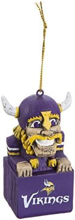 Team Sports America NFL Tiki Totem Mascot Ornament