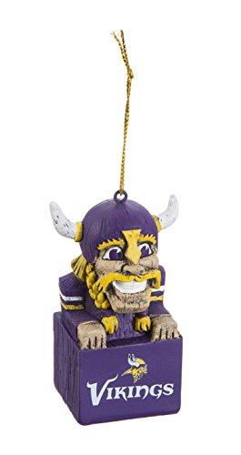Team Sports America 3OT3817MAS Minnesota Vikings Mascot - Ornaments Pembroke
