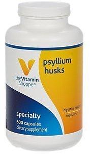 Vitamin Shoppe - Psyllium Husk With Acidophilus, 600 capsules by Vitamin Shoppe