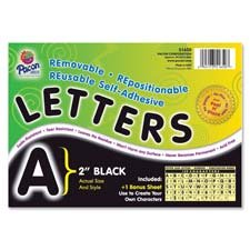 Pacon Self-Adhesive Removable Letters - -51620