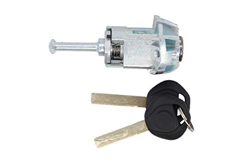 NewYall Front Left LH Driver Side Door Lock Cylinder Barrel w/ 2 Keys