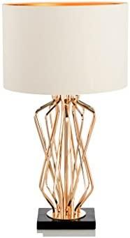ZfgG - Lámpara de mesa estilo americano, estilo moderno ...