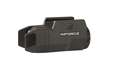 InForce APLc Compact WML Weapon Mounted White Light Auto Pistol 200 Lumens (Black) by InForce