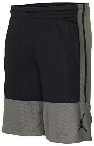 Nike Jordan Mens Flight Air Basketball Shorts X-Large Black/Green