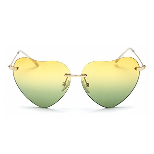 G&T 2016 New Girls Fashion Personality Cute Heart-Shaped Lens Uv Protection Beach - The To For Your Right Spectacles Choose Face How
