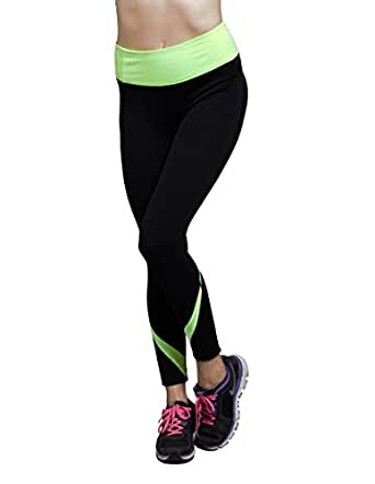 H. Sports Premium Yoga Sports Long Legging Running Pants (X-Small)