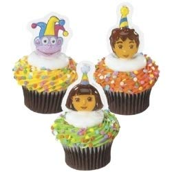Dora Boots and Diego Cupcake Toppers pkg of (Diego Cake Topper)