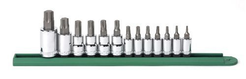 13Pc Torx Prress Fit Bit Socket Set
