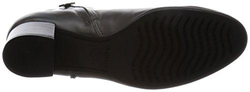 Geox D Erikah A, Boots femme - Gris (Chacoal), 38 EU