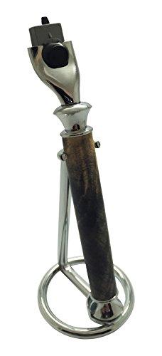Bendecidos Pens Handmade Razors-Buckeye Burl Wood-Mach 3 ...