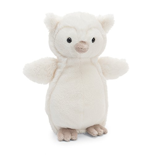 - Jellycat Bashful Owl Stuffed Animal, Small, 7 inches
