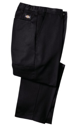 Dickies LP700 Flat Front Comfort Waist Pant-BLACK-40x34 by Dickies