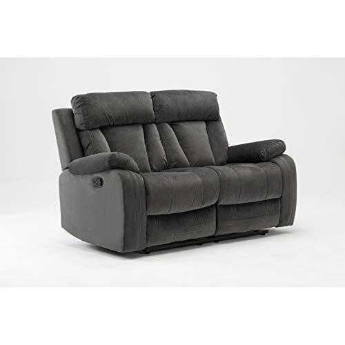 (Blackjack Furniture The Elton Collection Modern Reclining Living Room/Den Loveseat,)