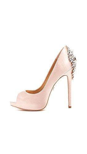 Badgley Women's Pink Pump Kiara Mischka Platform Or5Oq
