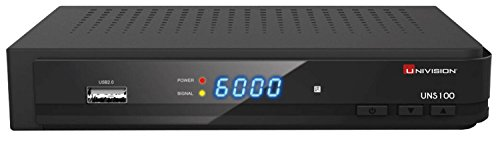 Univision UNS 100 Full HD Satelliten Receiver (HDMI/SCART/USB/PVR)