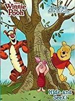 Winnie the Pooh Disney Hide and Seek 2 Packs Coloring Book