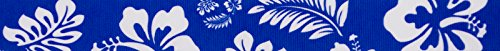 Country Brook Design 7/8 Inch Royal Blue Hawaiian Grosgrain Ribbon, 5 Yards Ocean Blue Grosgrain Ribbon