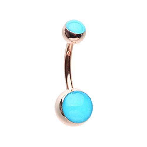Led Light Belly Button Ring in US - 6
