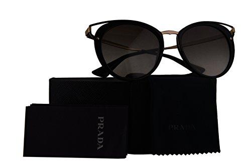 Prada Authentic Sunglasses PR66TS Black w/Grey Gradient Lens 1AB0A7 SPR66T PR 66TS SPR 66T (54mm)