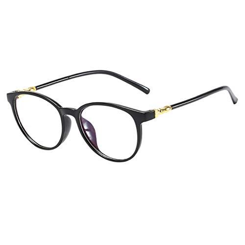 Amober Bohemian Unisex Stylish Square Non-Prescription Eyeglasses Glasses Clear Lens Eyewear ()