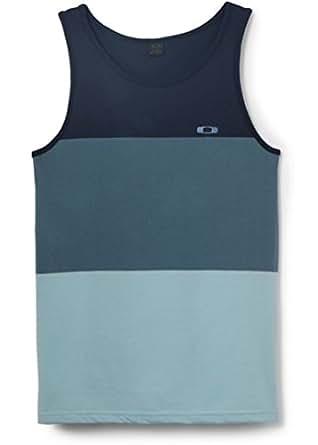Oakley Men's Bail Tank Top Sleeveless Tee T Shirt - Chino Blue (Medium)