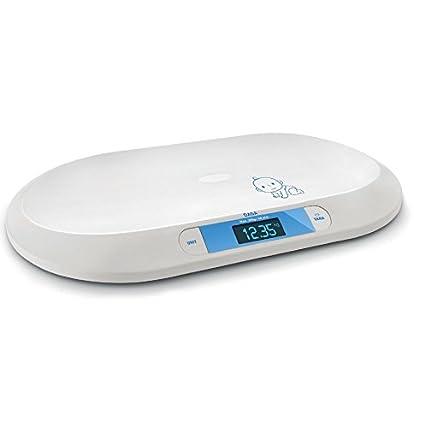 Daga BB-20- Báscula de Baño Digital con Diseño Curvo Fácil de Limpiar,
