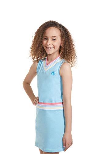 Girl Tennis Outfit - Sleeveless V Neck Tennis