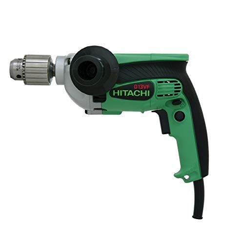 Hitachi D13VF 1/2-Inch 9-Amp Drill, EVS Reversible