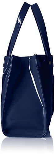 Navy Armani Patent Crossbody Jeans Tote rIrwzCq