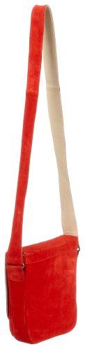 Diavolezza 101, Damen Umhängetasche, 23X22X6 cm Rot