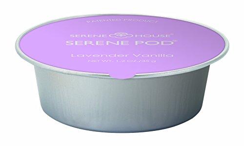 Serene Pod Wax Warmer Refill Cups, 35g, Pack of 2 (Lavender Vanilla)