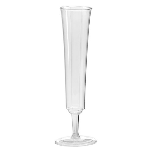 China Champagne Flute (WNA 10 Count Opulence Champagne Flute, 5 oz, Clear)