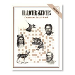 Character Sketches: Crossword Puzzle Book (Vol II) (Character Sketches Volume 2)